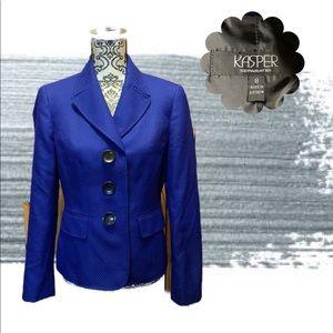 Royal blue blazer by kasper